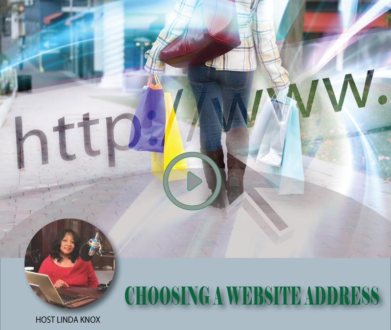 choosing a website address