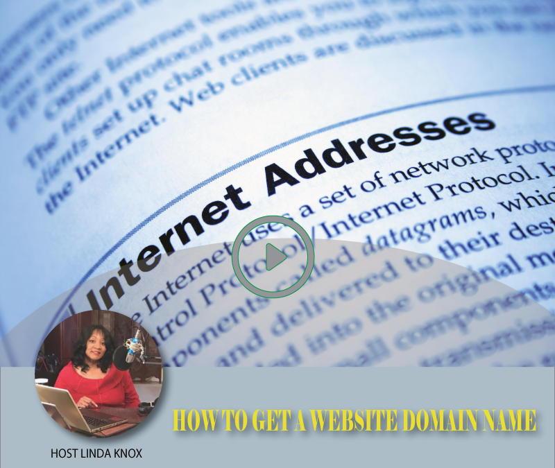 #29 HOW TO GET A WEBSITE DOMAIN NAME