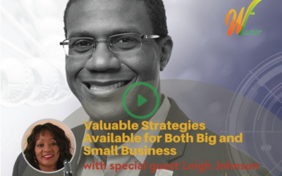#016 Valuable Strategies Available For Both Big and Small Business with Leigh Johnson