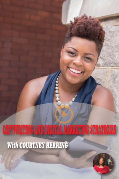 #27 The importance of having a digital marketing strategy and good copy with Courtney Herring